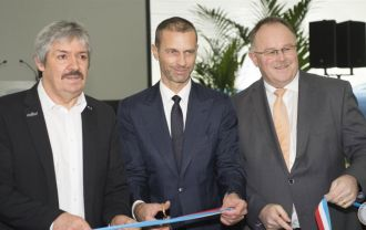 The opening video of DUOL Air Dome in Luxembourg inaugurated by UEFA president Aleksander Čeferin.