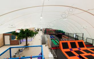 World's first Family Activity Centre inside a 1,800m2 airdome!
