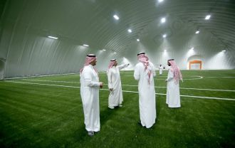 Heat is not a challenge. DUOL new air dome in Saudi Arabia ...