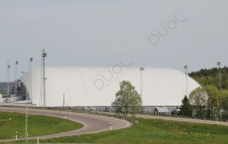 The biggest air dome in Europe ever: 11.000m2 covered area.