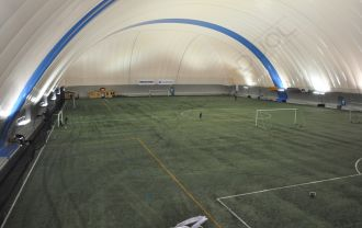 Another Duol prestigious sports dome recorded in 360 view. Finland, Turku.