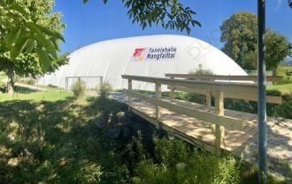 A new Mangfalltal tennis airdome officially opened its doors on 29th September 2018 in Feldkirchen, Germany.