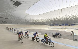 The Velodrome dome in Limoges was officially inaugurated on July 3, 2019.