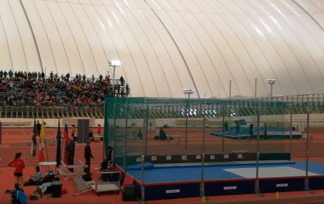 National Championship in the first athletic air dome in Slovenia