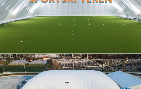 New DUOL air dome recognized as one of the best football training facilities in BiH.