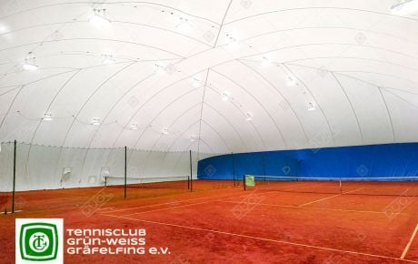 Due to the steadily increasing number of members and an expanded range of training, two tennis clubs from Germany reached their sports facility limits.