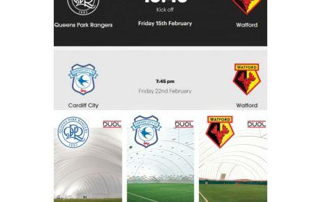 Welche Spielergebnis-Prognose geben wir für Watford FC gegen Queens Park Ranger und darauf folgend gegen Cardiff City? Alle 3 haben bereits individuell gewonnen, als sie sich für ihre DUOL Traglufthalle entschieden haben.