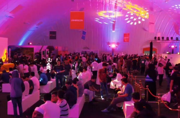 GamersCon, the biggest video games expo in the Eastern Province of the Kingdom of Saudi Arabia, was held under DUOL Air Dome.
