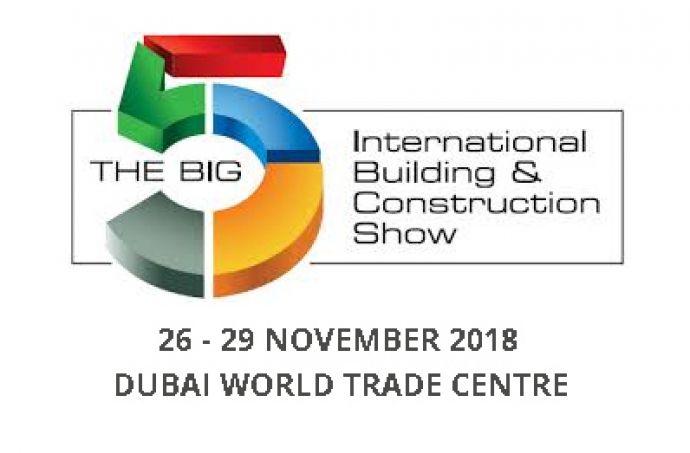 DUOL will exhibit at Big 5 Dubai, 26-29 November 2018