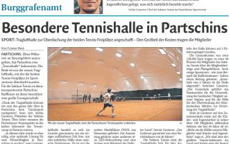 Tennis club in Partschins