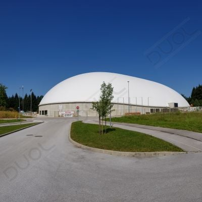 Air dome in Novo Mesto