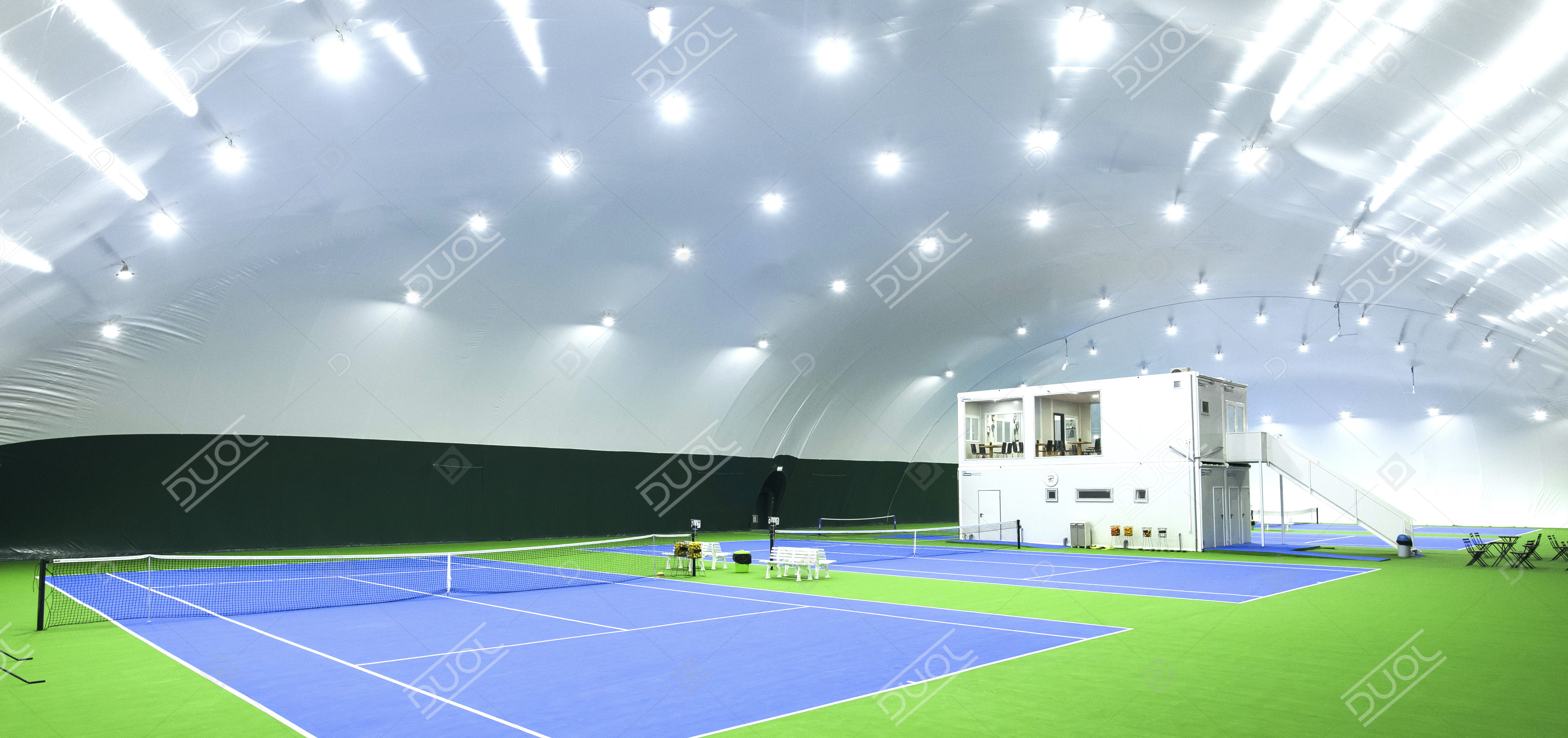 Tennis Bubble Tennis Air Dome Duol Air Supported Structure