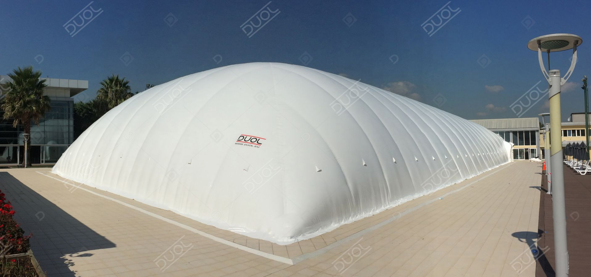 Swimming pool enclosures & domes