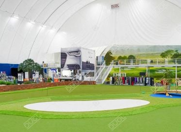 Golf air domes / Indoor golf