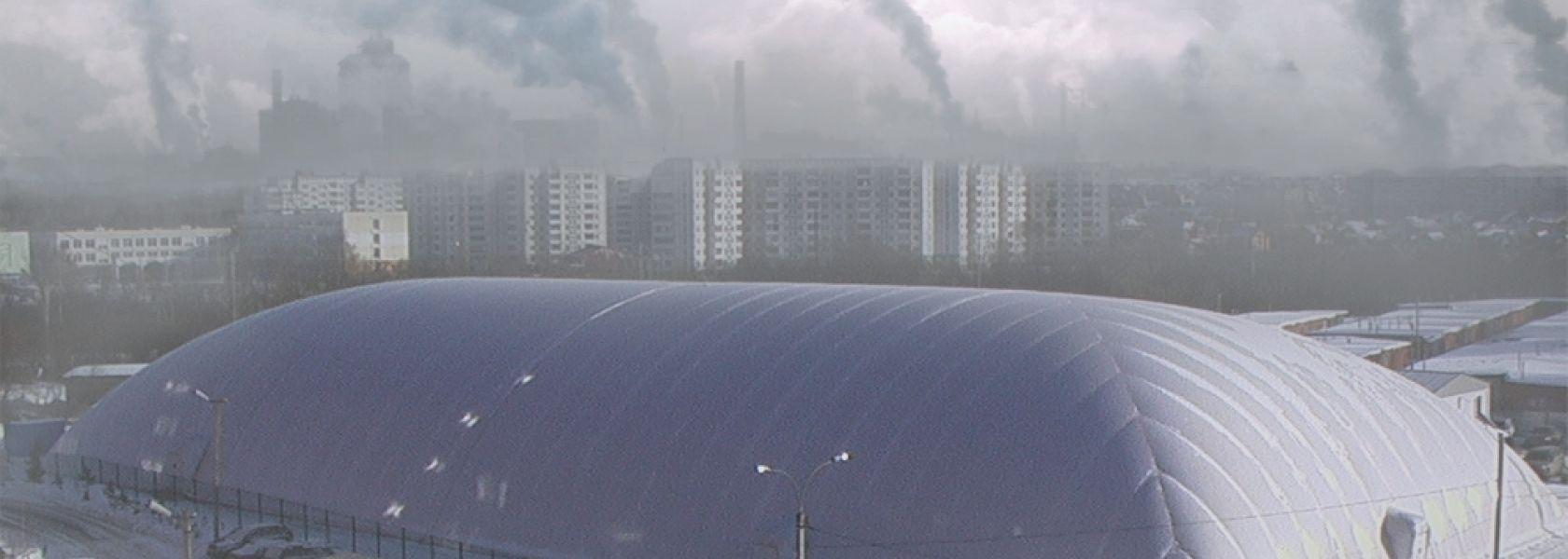 Anti-pollution domes