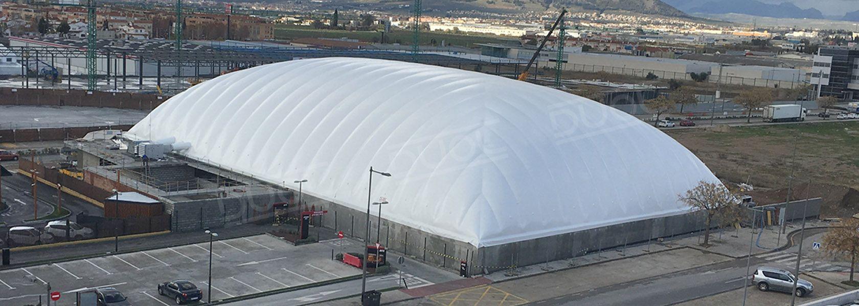 Ice skating, Hockey, Curling Air domes