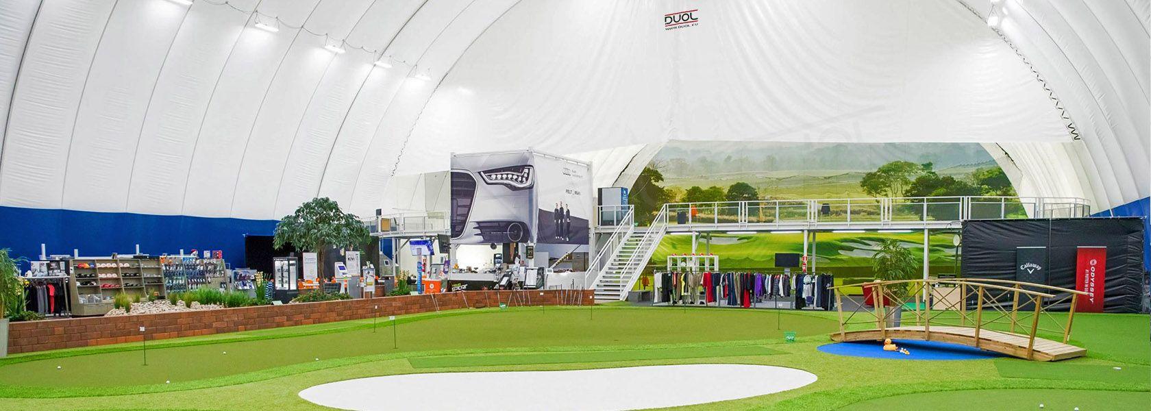 Golfhallit