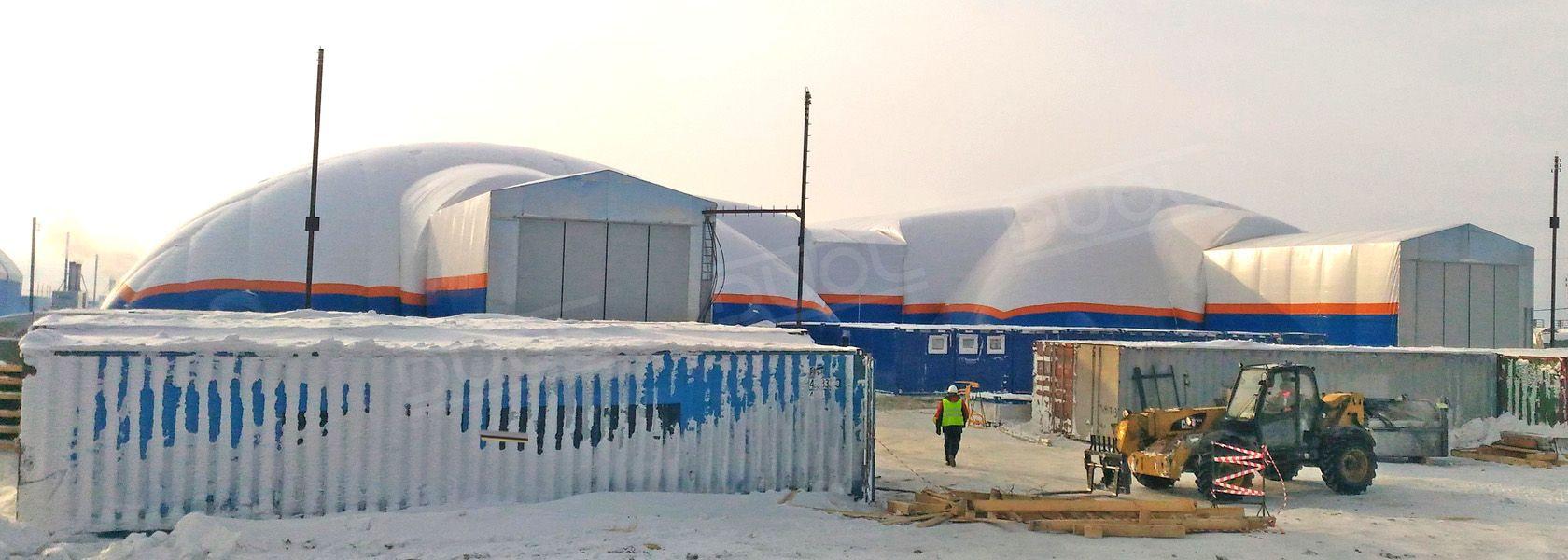 Les Structures Gonflables DUOL pour Entrepôt industriel