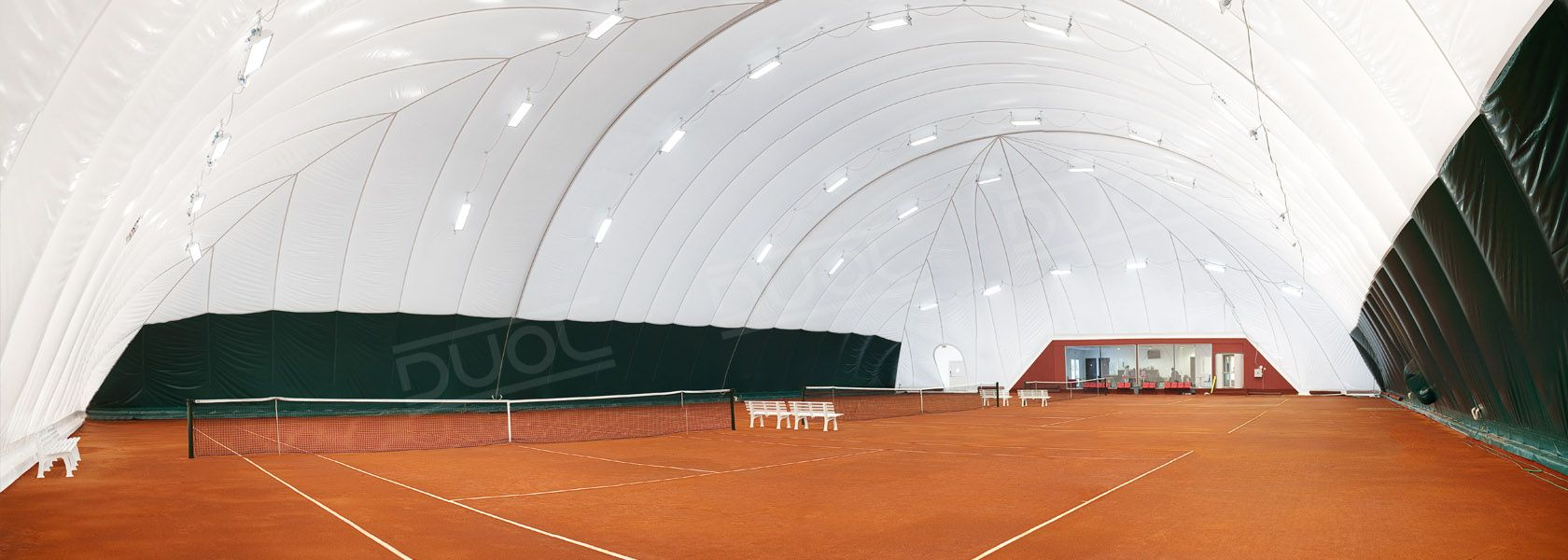 Tennis air domes