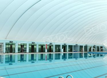 Napihljive hale za bazene