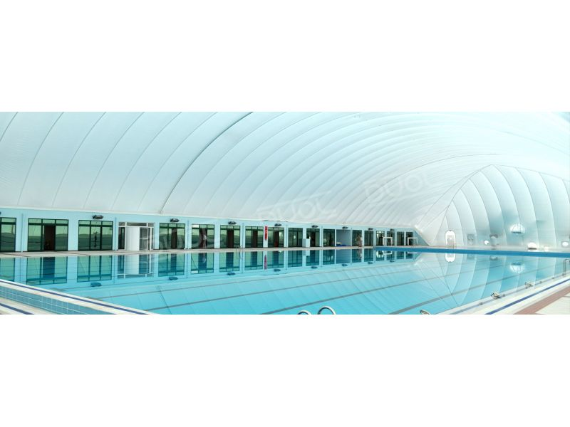 Pool air dome