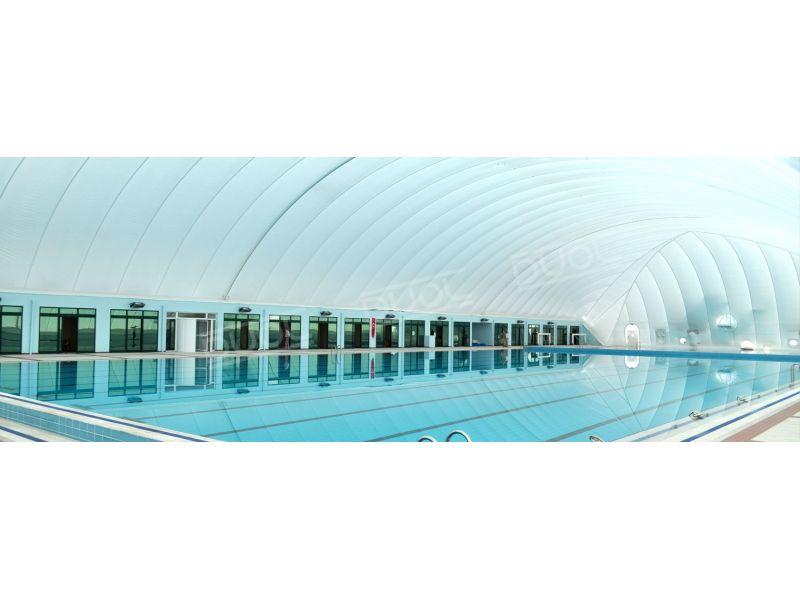 Pool air dome