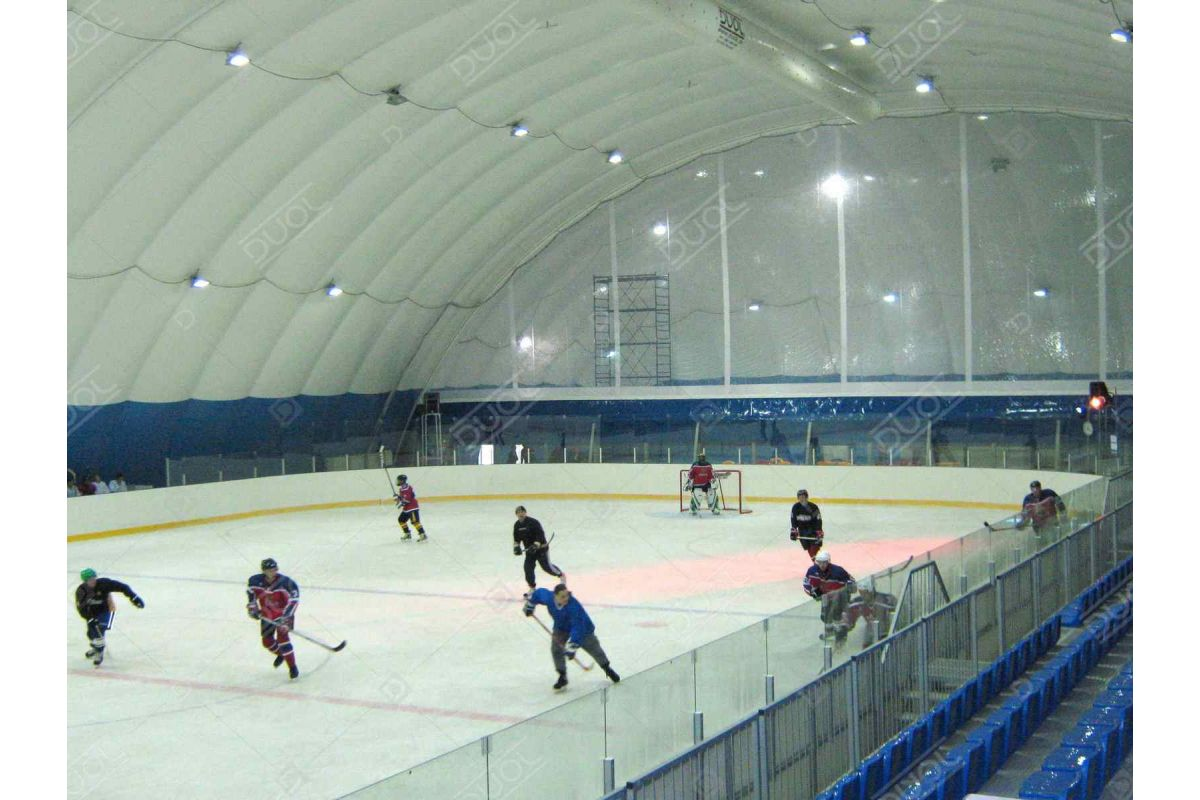 Hockey inflatable dome