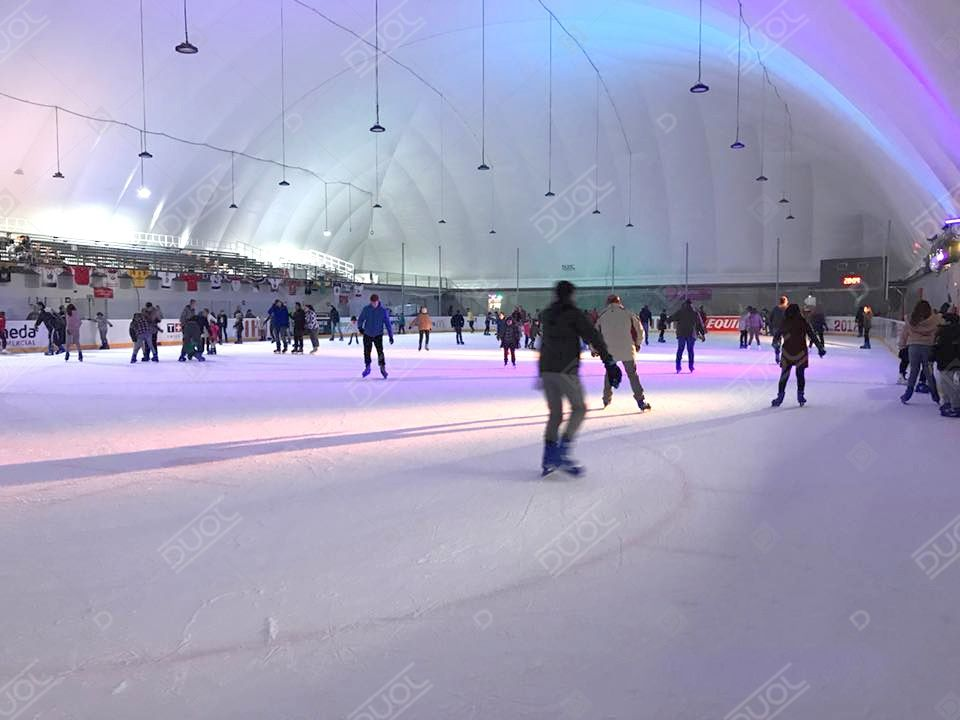 Hockey inflatable structure (Hockey inflatable structure)