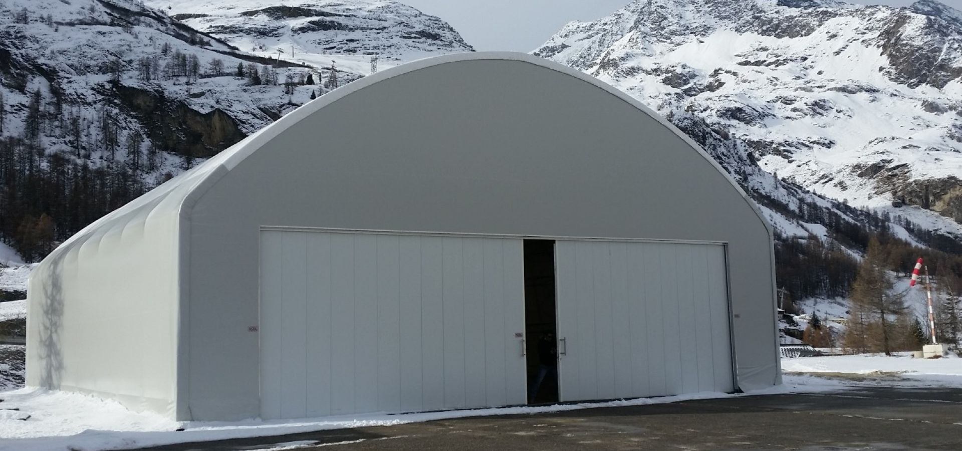 Steel fabric structures