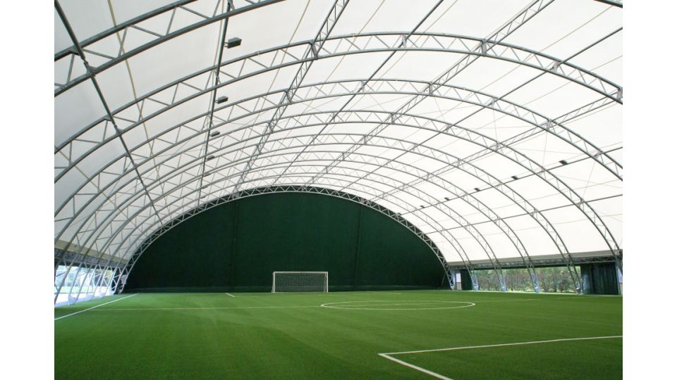 Steel fabric structures | Product | DUOL - Air supported