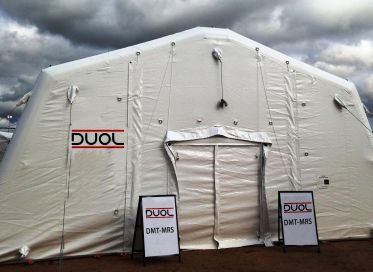 Military and civil protection tents