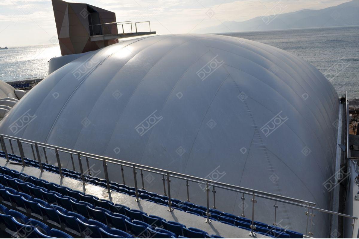 Swimming pool enclosures & domes | Product | DUOL - Air ...