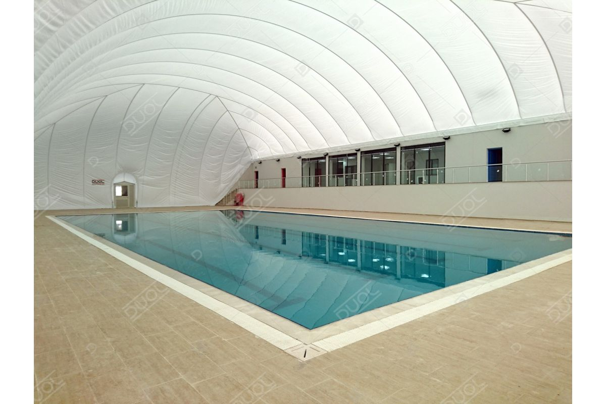 Swimming pool enclosures & domes | DUOL - Air supported ...
