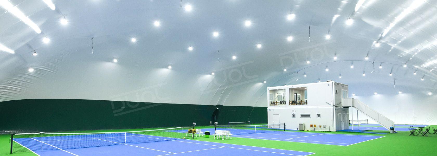 Traglufthallen für Tennis