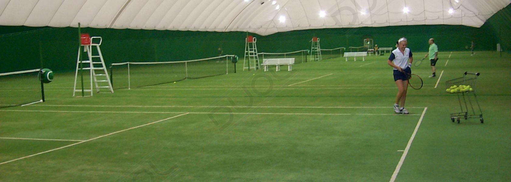 Tennis Airdome Oktober 1