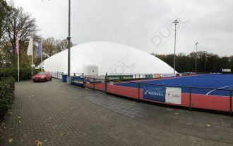 Another hockeydome installed in the Netherlands.