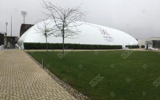 Duol Indoor Olympic pool air dome, Samorin-Bratislava, Slovakia.